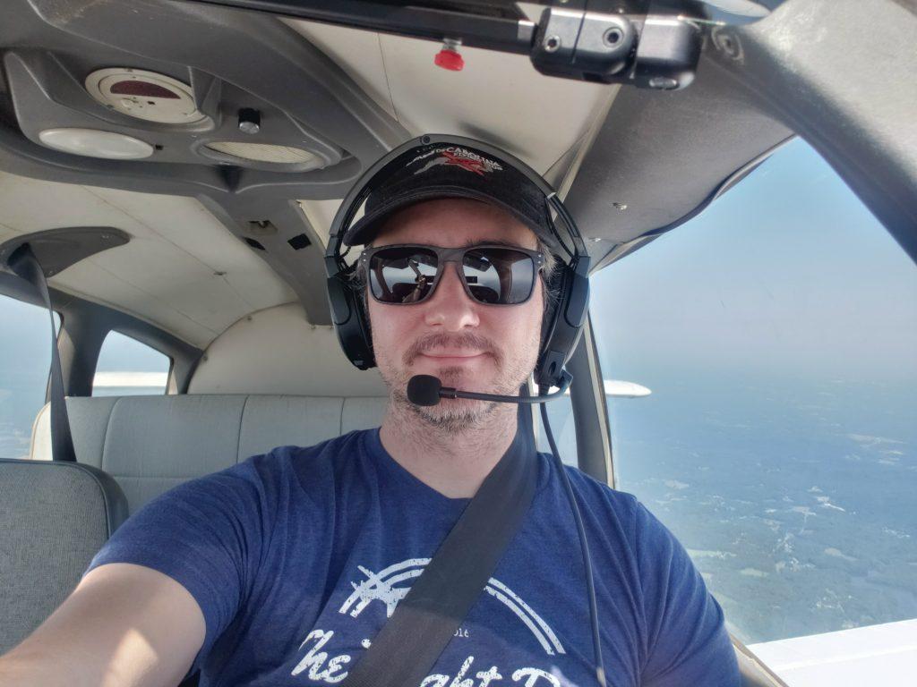 Selfie in the sky
